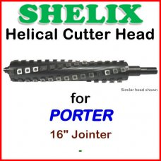 SHELIX for PORTER 16'' Jointer