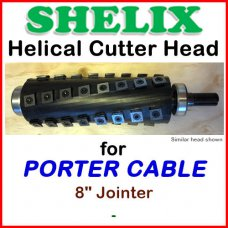 SHELIX for PORTER CABLE 8'' Jointer