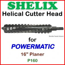 SHELIX for POWERMATIC 16'' Planer, P160