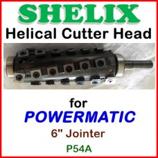 SHELIX for POWERMATIC 6'' Jointer, Model 54A