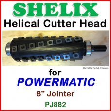 SHELIX for POWERMATIC 8'' Jointer, PJ882