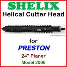 SHELIX for PRESTON 24'' Planer, Model 2066