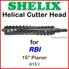 SHELIX for RBI 15'' Planer, 615I