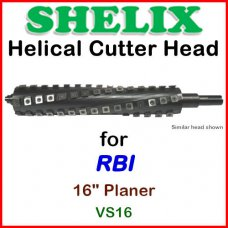 SHELIX for RBI 16'' Planer, VS16