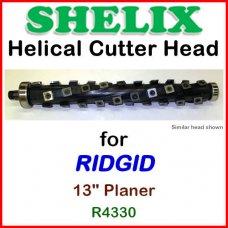 SHELIX for RIDGID 13'' Planer, R4330