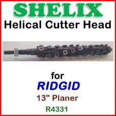 SHELIX for RIDGID 13'' Planer, R4331
