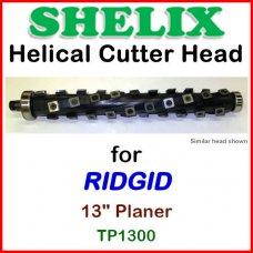 SHELIX for RIDGID 13'' Planer, TP1300