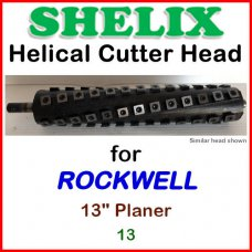SHELIX for ROCKWELL 13'' Planer, 13