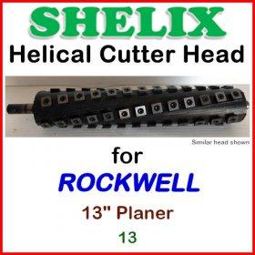 SHELIX for ROCKWELL 13'' Planer, 13
