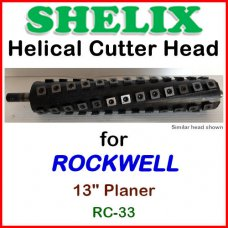 SHELIX for ROCKWELL 13'' Planer, RC-33