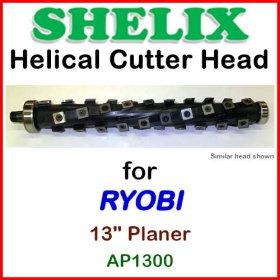 SHELIX for RYOBI 13'' Planer, AP1300
