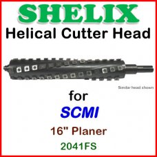 SHELIX for SCMI 16'' Planer, 2041FS