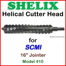 SHELIX for SCMI 16'' Jointer, Model 410