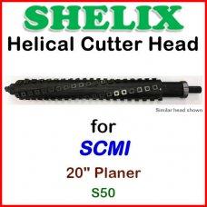 SHELIX for SCMI 20'' Planer, S50