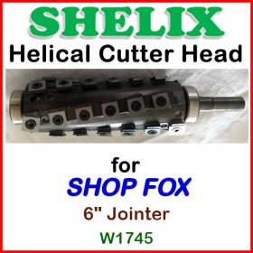 SHELIX for SHOP FOX 6'' Jointer, W-1745