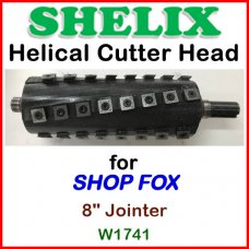 SHELIX for SHOP FOX 8'' Jointer, W-1741