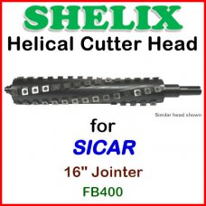 SHELIX for SICAR 16'' Jointer, FB400