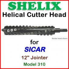 SHELIX for SICAR 12'' Jointer, Model 310