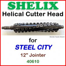 SHELIX for STEEL CITY 12'' Jointer, 40610