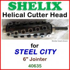 SHELIX for STEEL CITY 6'' Jointer, Model 40635