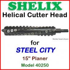 SHELIX for STEEL CITY 15'' Planer, Model 40250