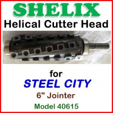 SHELIX for STEEL CITY 6'' Jointer, Model 40615