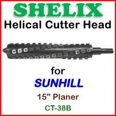 SHELIX for SUNHILL 15'' Planer, CT-38B