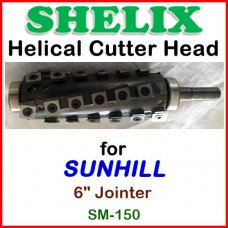 SHELIX for SUNHILL 6'' Jointer, SM-150