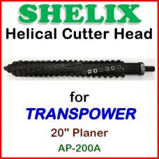 SHELIX for TRANSPOWER 20'' Planer, AP-200A