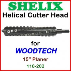 SHELIX for WOODTECH 15'' Planer, 118-202