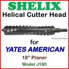 SHELIX for YATES AMERICAN 18'' Planer, Model J180