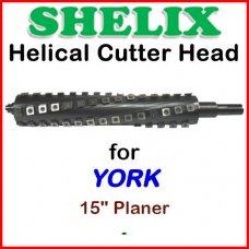 SHELIX for YORK 15'' Planer