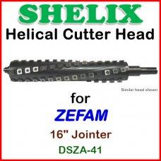 SHELIX for ZEFAM 16'' Jointer, DSZA-41