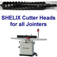 SHELIX Heads for Jointers